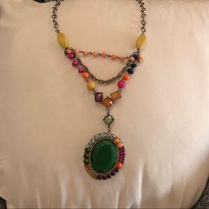 Jewelry - Multicolored stone necklace